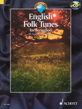 English Folk Tunes for Accordion: 88 Traditional Pieces Book/CD Pack (HL-49016955)