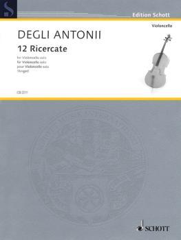 12 Ricercate (Solo Cello) (HL-49017638)