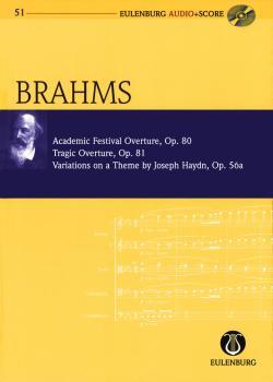 Academic Festival Overture, Op.80 Tragic Overture, Op.81 Variations on (HL-49017698)