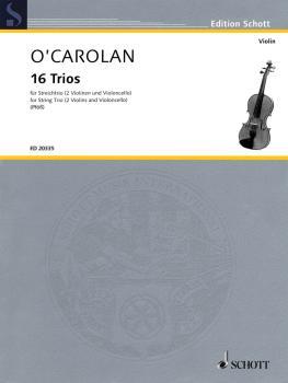 16 Trios: String Trio Score and Parts (HL-49017749)