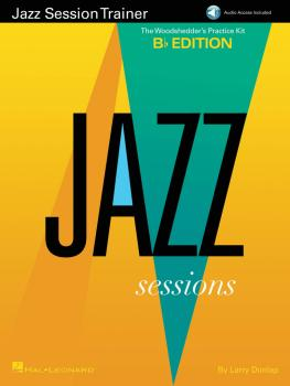 Jazz Session Trainer: The Woodshedder's Practice Kit - B-Flat Edition (HL-00147681)