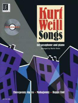 Kurt Weill Songs: Alto and Tenor Saxophone with CD of Performance and  (HL-49019099)