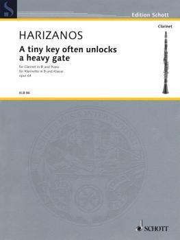 A Tiny Key Often Unlocks a Heavy Gate, Op. 64 (Clarinet and Piano) (HL-49019400)