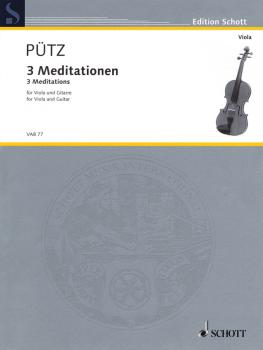 3 Meditations: Viola and Guitar Two Performance Scores (HL-49019935)