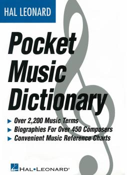 The Hal Leonard Pocket Music Dictionary (HL-00183006)