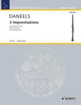3 Improvisations (for Clarinet) (HL-49043524)