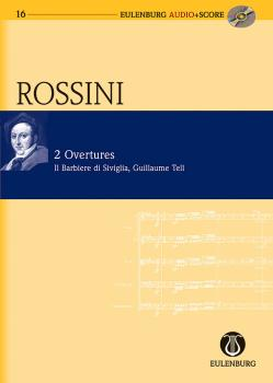 2 Overtures: The Barber of Seville and William Tell: Eulenburg Audio+S (HL-49044015)