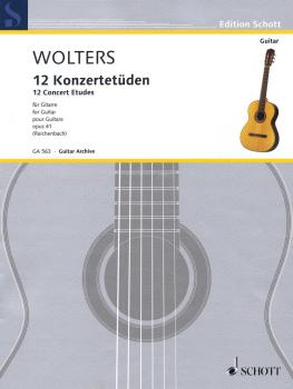12 Concert Etudes Op. 41 (for Solo Guitar) (HL-49044091)