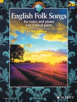 English Folk Songs for Voice and Piano: 30 Traditional Pieces (HL-49044104)