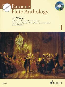 Baroque Flute Anthology Volume 1: 36 Works for Flute and Piano (HL-49044375)