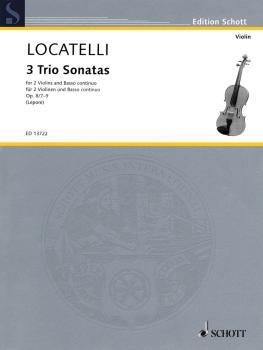 3 Trio Sonatas Op. 8, Nos. 7-9 (for 2 Violins and Basso Continuo) (HL-49044376)