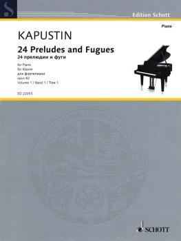 24 Preludes and Fugues Op. 82 (Volume 1, Nos. 1-12) (HL-49044633)