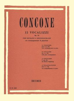15 Vocalizzi, Op. 12: Soprano or Mezzo-Soprano (HL-50095830)