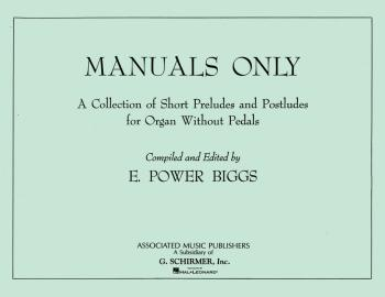 Manuals Only (Organ Solo) (HL-50235180)