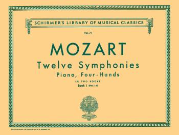 Schirmer Library of Classics Volume 71 (Piano Duet) (HL-50252540)