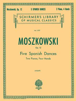 5 Spanish Dances Op12 2pn/4hd (HL-50261650)