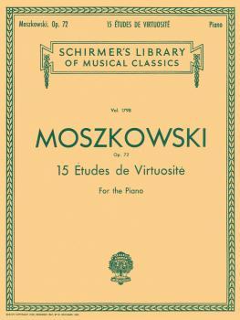 15 Etudes De Virtuosité, Op. 72 (Piano Solo) (HL-50261830)