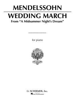 Wedding March (Mendelssohn) - Piano Solo (Piano Solo) (HL-50263740)