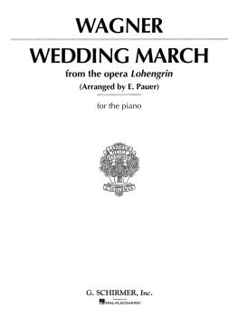 Wedding March (Wagner) - Piano Solo (Piano Solo) (HL-50266950)