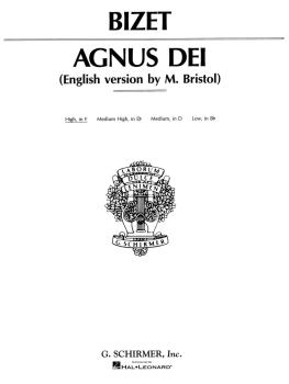 Agnus Dei (Lamb of God) (High Voice in F) (HL-50266960)