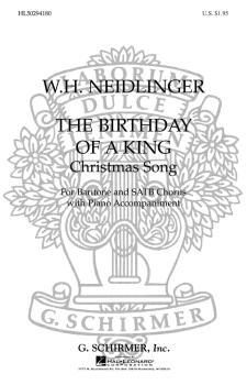 The Birthday of a King (Baritone solo) (HL-50294180)