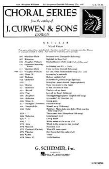 Ca' The Yowes  Tenor Solo Voice Piano  Scottish Folk Song (HL-50299360)