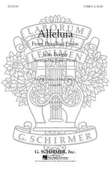 Alleluia (from Brazilian Psalm) (HL-50310140)