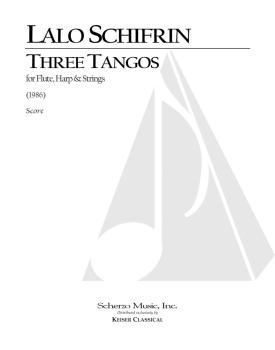 3 Tangos for Flute, Harp and Strings (HL-00040057)