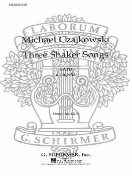 3 Shaker Songs (HL-50321190)