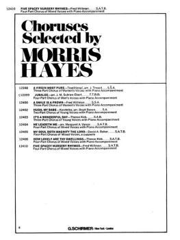 5 Spacey Nursery Rhymes W/Pno Acc (HL-50322340)