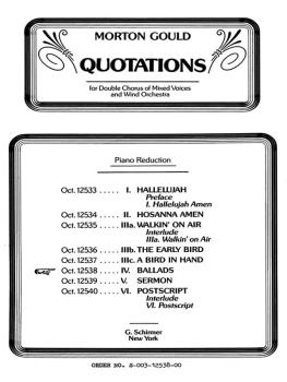 Ballads From Quotations With Orchestra (HL-50323620)