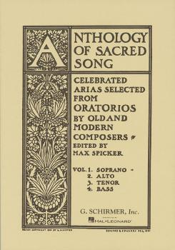 Anthology of Sacred Song - Volume 1 (Soprano) (HL-50325780)