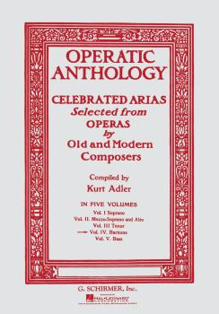 Operatic Anthology - Volume 4 (Baritone and Piano) (HL-50325860)