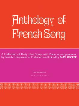 Anthology of Modern French Song (39 Songs) (High Voice) (HL-50326040)