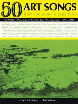 50 Art Songs from the Modern Repertoire (Voice and Piano) (HL-50327540)