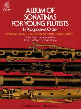 Album of Sonatinas for Young Flutists: In Progressive Order for Flute  (HL-50329250)