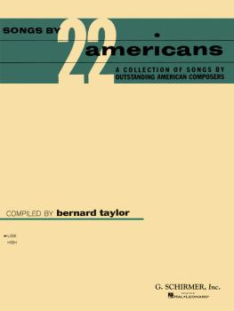 Songs by 22 Americans (Low Voice) (HL-50329410)