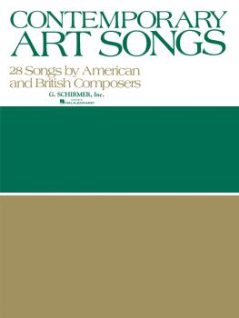 Contemporary Art Songs: 28 by British and American Composers (Voice an (HL-50331880)