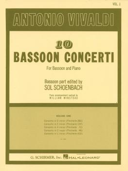 10 Bassoon Concerti, Vol. 1: Bassoon with Piano Accompaniment (HL-50332410)