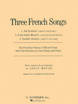 3 French Songs (SSATB) (HL-50332540)