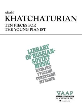 10 Pieces for the Young Pianist (Piano Solo) (HL-50333400)