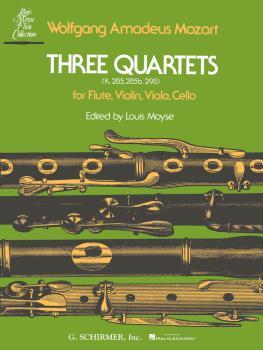 3 Quartets (K.285, K.285b and K.298) (Score and Parts) (HL-50334730)