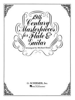 19th Century Masterpieces for Flute and Guitar (Flute and Guitar) (HL-50334840)