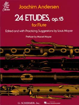 24 Etudes, Op. 15 (Flute Solo) (HL-50335090)