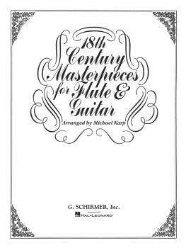 18th Century Masterpieces for Flute and Guitar (Flute and Guitar) (HL-50335200)