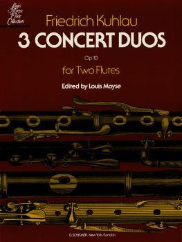 3 Concert Duos, Op. 10b (Flute) (HL-50335360)