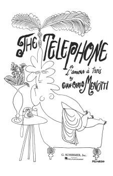 The Telephone (Vocal Score) (HL-50337660)