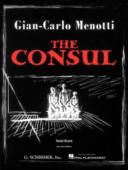 The Consul (Vocal Score) (HL-50337690)