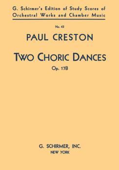2 Choric Dances, Op. 17b (Study Score No. 43) (HL-50339060)
