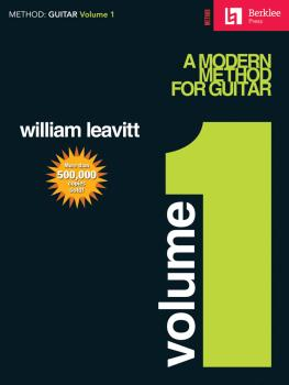 A Modern Method for Guitar - Volume 1 (Guitar Technique) (HL-50449400)